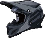 Arctiva Snow Snowmobile RISE SUMMIT Cold-Weather Helmet (Stealth Matte Black/Grey)