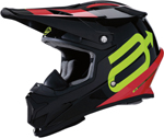 Arctiva Snow Snowmobile RISE SUMMIT Cold-Weather Helmet (Black/Red/Hi-Viz)