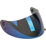 AGV Replacement Visor/Shield for K3 & K4 Helmets (Iridium Blue Anti-Scratch)