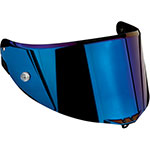 AGV Replacement Visor/Shield for Pista GP/Corsa/GT Veloce (Iridium Blue Anti-Scratch)