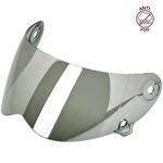 Biltwell Inc Anti-Fog Shield/Visor for Lane Splitter Helmet (Chrome Mirror)