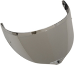 AGV GT3-1 Pinlock-Ready Shield for XS-LG Sport Modular Helmets (Iridium Silver)