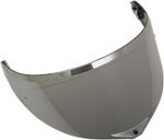 AGV GT3-2 Pinlock-Ready Shield for XL-3X Sport Modular Helmets (Iridium Silver)