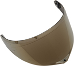 AGV GT3-2 Pinlock-Ready Shield for XL-3X Sport Modular Helmets (Iridium Gold)