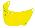 AGV Pinlock-Ready Shield for Legends X3000 Helmets (Yellow)