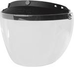 Z1R Universal 3-snap Shield/Visor Set for Open-Face Motorcycle Helmets