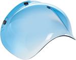 Biltwell Inc 3-Snap UV Bubble Shield/Visor for Motorcycle Helmets (Gradient Blue)