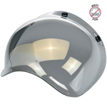 Biltwell Inc 3-Snap Anti-Fog UV Bubble Shield/Visor for Motorcycle Helmets (Gold Mirror)