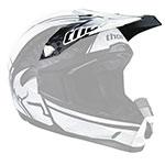 THOR MX Motocross Visor Kit for Quadrant Splatter Youth Helmet, Black/White