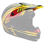 THOR MX Motocross Visor Kit for Quadrant Splatter Youth Helmet (Yellow/Red)