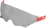 Z1R Replacement Dropdown Sun Visor for Saturn Helmets (Mirror Silver)