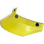 BILTWELL INC 3-Snap Helmet Moto Visor (Yellow)