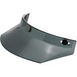 BILTWELL INC 3-Snap Helmet Moto Visor (Smoke)