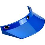 Biltwell Inc 3-Snap Helmet Moto Visor (Blue)