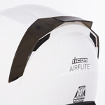 ICON MotoSports Replacement Rear Spoiler for AIRFLITE Helmets (Smoke)