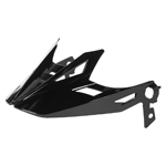 Icon Motosports Airflite Visor/Peak for Airflite Helmets (Gloss Black)