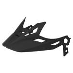 Icon Motosports Airflite Visor/Peak for Airflite Helmets (Rubatone Matte Black)