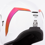 Icon Motosports Rear Spoiler for Airform Helmets (RST Mirror Red)