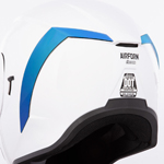 Icon Motosports Rear Spoiler for Airform Helmets (RST Mirror Blue)