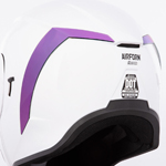 Icon Motosports Rear Spoiler for Airform Helmets (RST Mirror Purple)