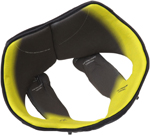 AGV Replacement Head Liner for Pista GP R Helmets (Black/Yellow)
