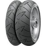 Continental ContiRoadAttack 2 Sport Touring Radial Rear Tire (Blackwall) 190/55R17 75W