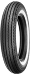 Shinko 270 Super Classic Cruiser Whitewall Front or Rear Tire | 5.00-16 | 69 S
