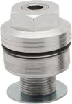 Burly Brand - B25-3001 - Fork Preload Adjusters, Machined Aluminum Finish
