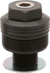 Burly Brand - B25-3001B - Fork Preload Adjusters, Black Finish