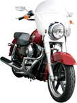 Lindby LINBAR Front Highway Bars (Chrome) 2012-2016 H-D Dyna Switchback FLD