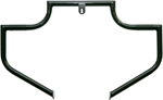 Lindby LINBAR Front Highway Bars (Black) 1993-2016 H-D FXDWG, FXDX, FXDS and 2008-2016 FXDF