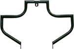 Lindby LINBAR Front Highway Bars (Black) 1991-2016 H-D FXD models w/ mid-controls