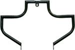 Lindby LINBAR Front Highway Bars (Black) 1991-2016 H-D FXD models w/ mid-controls