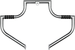 Lindby MAGNUMBAR Front Highway Bars (Chrome) 1997-2016 H-D FLHT, FLHX, FLHR, and FL Trikes