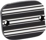 Arlen Ness - 03-229 - Front Brake Master Cylinder Cover, 10-Gauge - Black