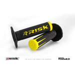 Risk Racing FUSION 2.0 Motocross Grips with Fusion Bonding System (Yellow) 00288