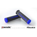 Risk Racing FUSION 2.0 ATV/MTB Grips with Fusion Bonding System (Blue) 00290