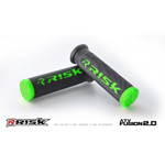 Risk Racing FUSION 2.0 ATV/MTB Grips with Fusion Bonding System (Green) 00291