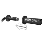 Risk Racing MUD Grips for MX, ATV, MTB, or BMX (Black) 00139