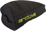 Arctiva Handlebar Gauntlets for Snowmobiles, Snowbikes, Motorcycles & ATVs (Black/Hi-Viz)