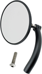 BILTWELL Perch Mount Utility Mirror (Black) 3.75