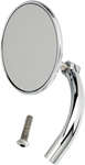 BILTWELL Perch Mount Utility Mirror (Chrome) 3.75