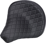 Biltwell Inc Solo 2 Seat (Diamond) for custom Harley-Davidson applications