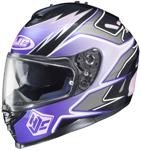 HJC IS-17 Intake Full-Face Motorcycle Helmet (Purple)