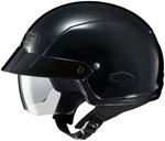 HJC IS-Cruiser Motorcycle Half Helmet (Black)