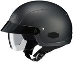 HJC IS-Cruiser Motorcycle Half Helmet (Flat Black)