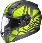 HJC CL-17 Redline Full-Face Motorcycle Helmet (Hi-Viz Yellow)