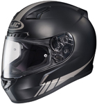 HJC CL-17 Streamline Full-Face Motorcycle Helmet (Black/Silver)