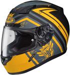 HJC CL-17 Mech Hunter Full-Face Motorcycle Helmet (Yellow)