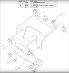 WARN ATV Winch Mount Kit for Honda Foreman, Rancher & Rubicon